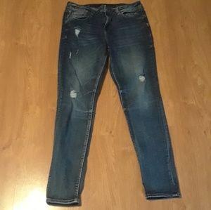 Miss Me Skinny Jeans Size 29 EUC